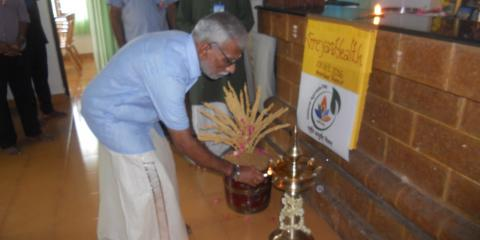 Inaugration of Ayurveda day
